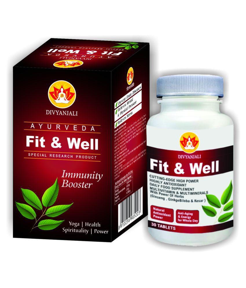 Divyanjali Ayurveda Fit & Well Tablet 200 gm Pack Of 1