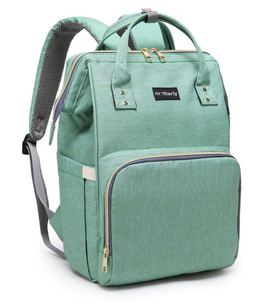 Motherly Green Cotton Diaper Bag ( 41 cm
