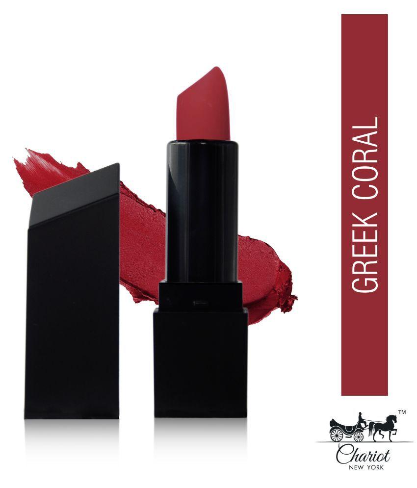 Chariot New York Creme Lipstick Greek Coral 4 g