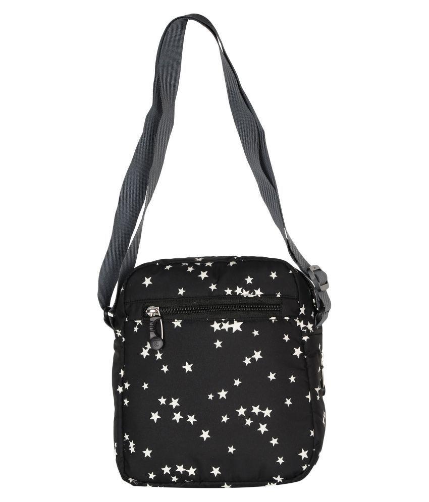 Expert Bags Black P.U. Sling Bag