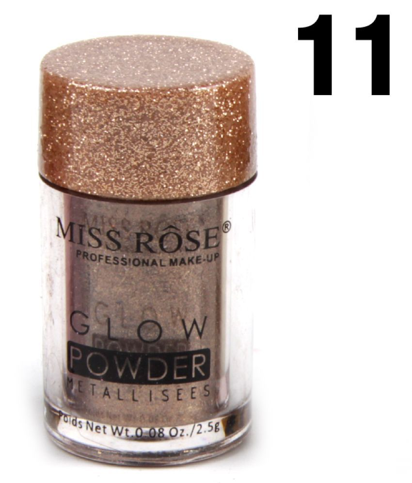 Miss Rose 16 Shades Eye Shadow Glow Powder Eye Shadow Powder Colours 10 g