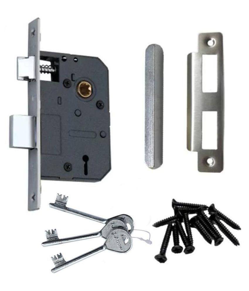 Buy T-Arrow 1003 Mortise Lock Set Door Lock Handle Set ...