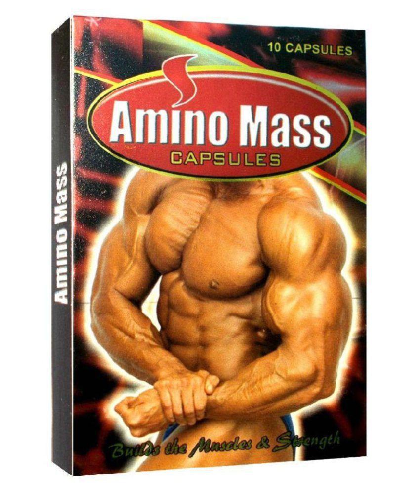 Cackle's Amino Mass (3x10=30 Caps) Capsule 30 no.s
