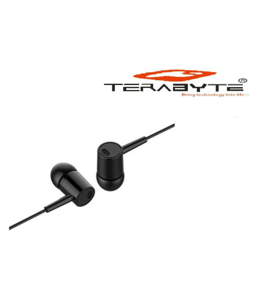 Terabyte TB Y1 Ear Buds Wired With Mic Headphones/Earphones