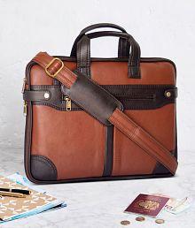 Cosykart Brown Synthetic Office Bag Sling Bag For Men & Women/Side Bag Cross Bag Leather Bag Men Man Side Bag Gents Bag Men Side Bag One Side Bag Men Carry Bag Men
