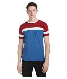 Ample Blue Half Sleeve T-Shirt