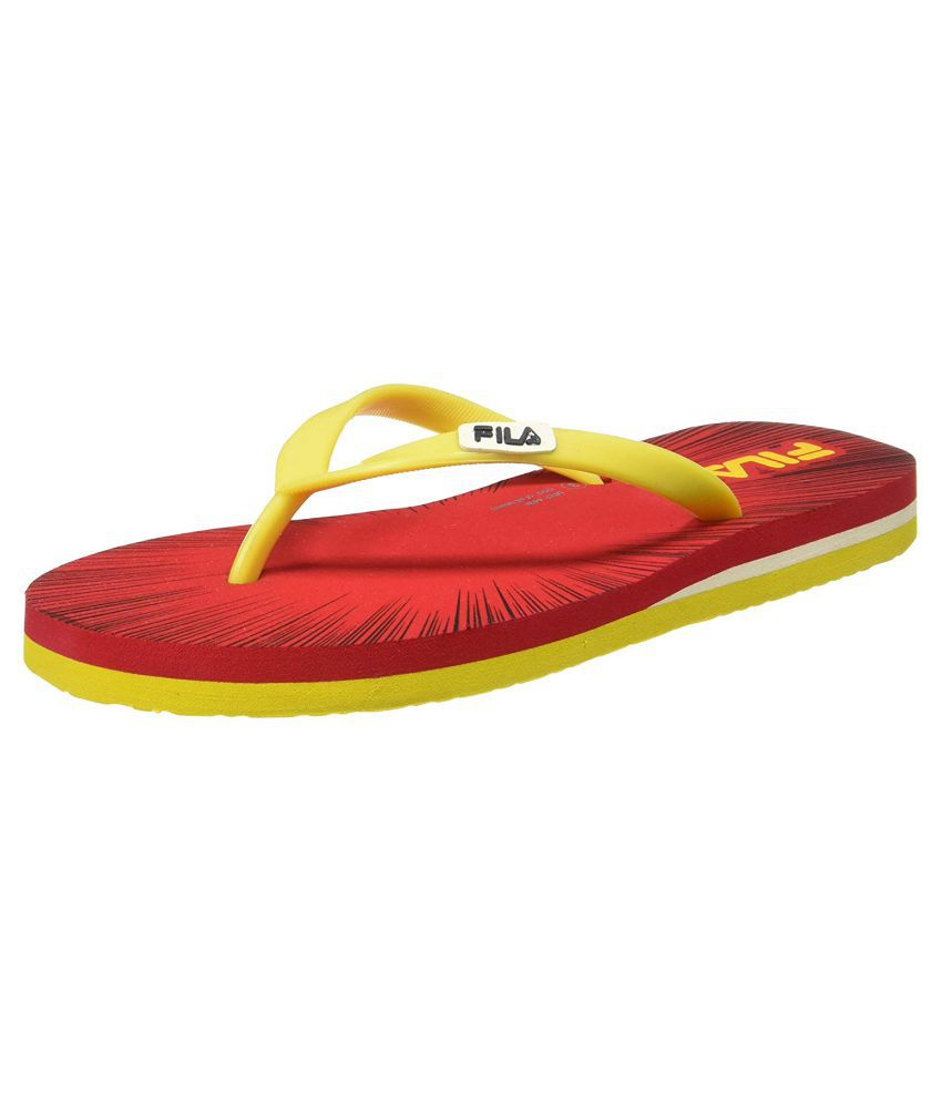 c5a66919b22 Fila Yellow Slippers Price in India- Buy Fila Yellow Slippers Online at  Snapdeal