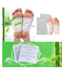 Kinoki 1 Cleansing Detox Foot Patches 10 Adhesive Pads Kit Natural Unwanted Toxins Remover Pack Of 1