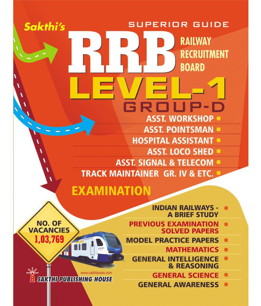 Rrb Group D Level 1 (Various Posts ) Exam Preparation Book 2019 (English)