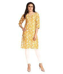34bf8d847a8724 Yellow Kurtis  Buy Yellow Kurtis Online at Best Prices in India on ...