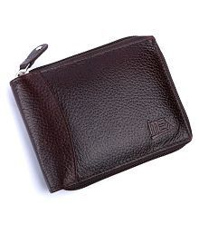 Imex Leather Brown Casual Regular Wallet