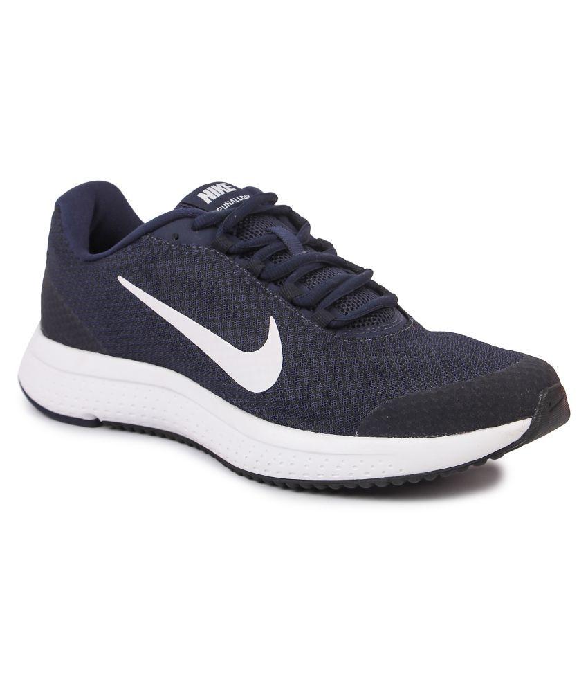 Nike RUNALLDAY Blue Running Shoes - Buy