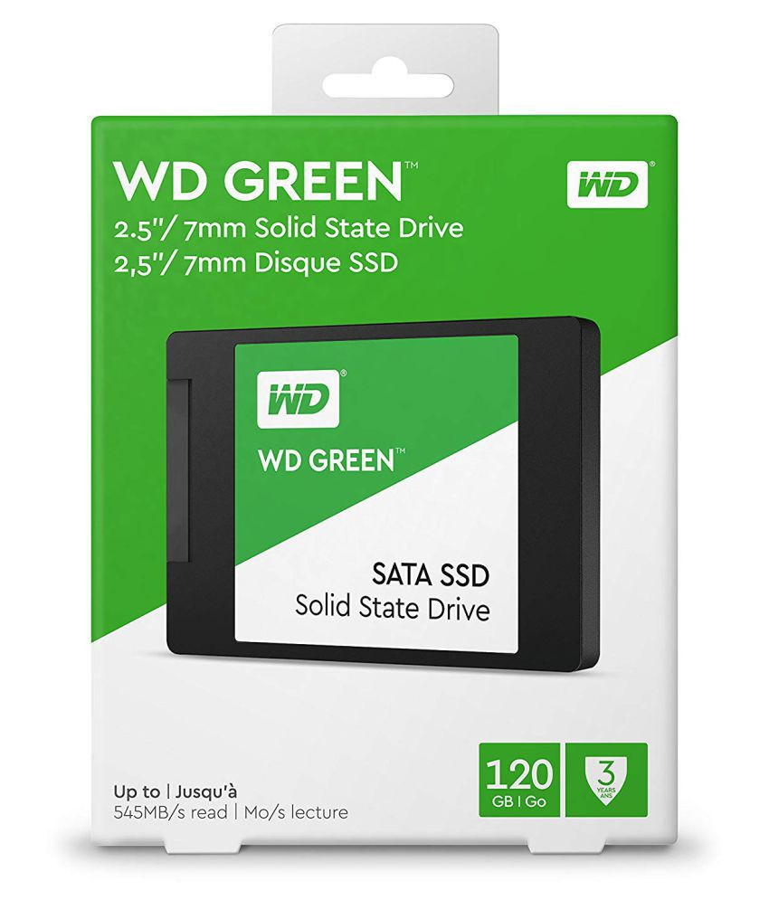 WD Green 120 GB 3D NAND WDS120G2G0A Internal SSD