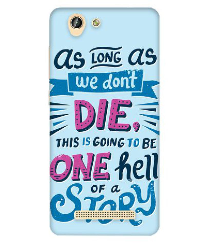 Gionee F103 Pro Printed Cover By Emble
