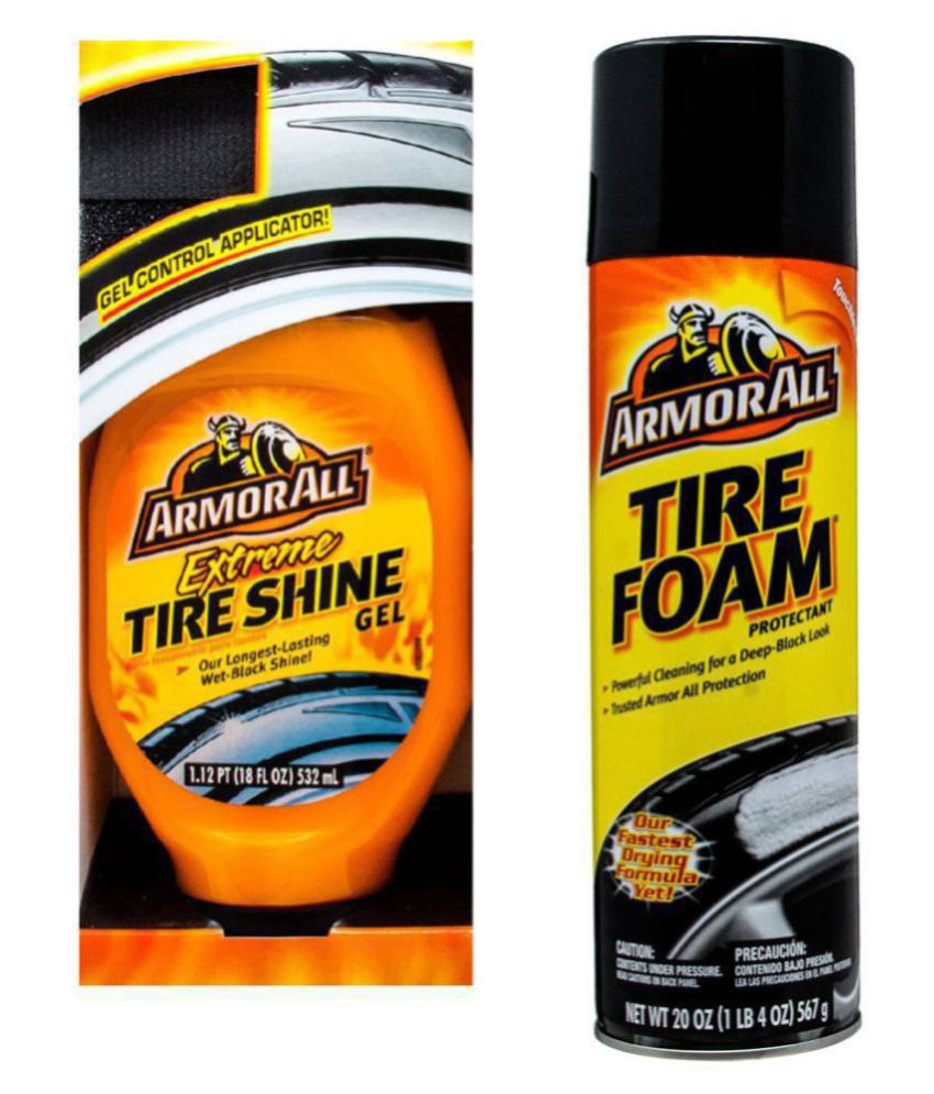 Armorall Extreme Tire Shine Gel 532 ml with Armorall Tire Foam 567 gm