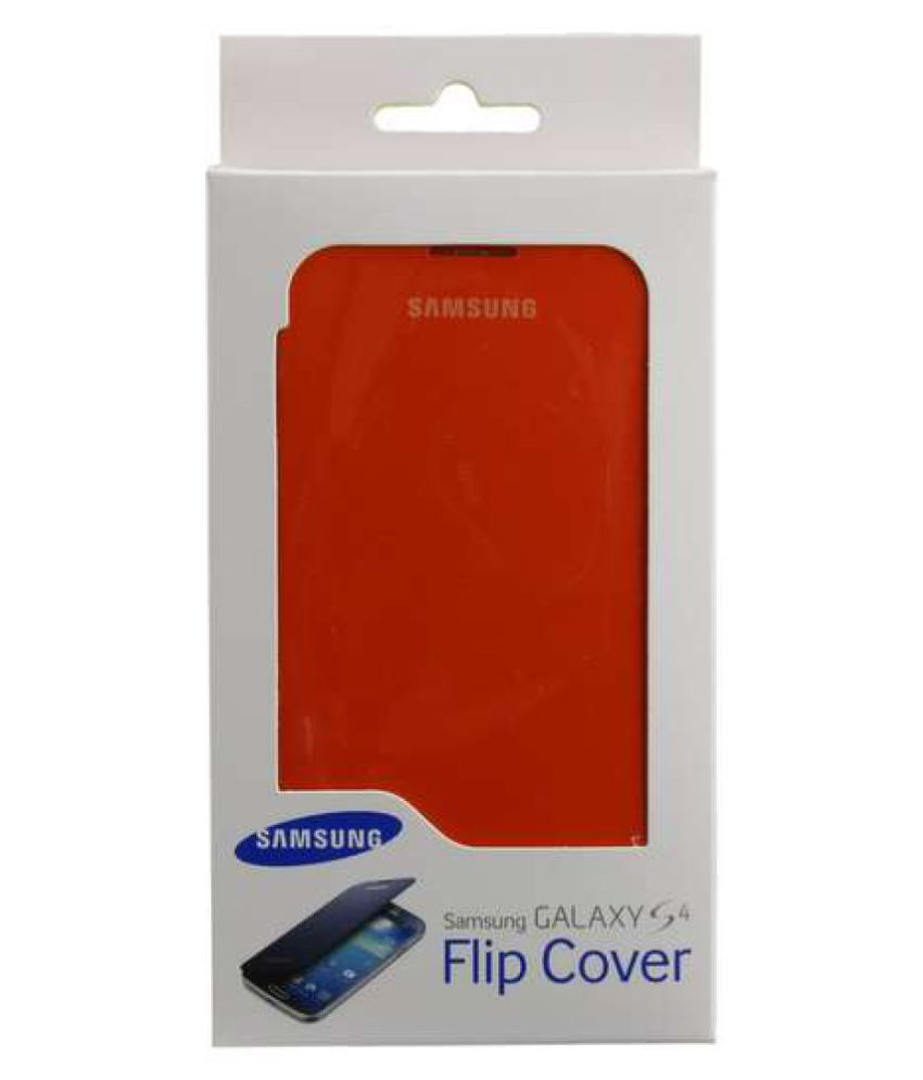 detailed look 83889 93f37 Samsung Galaxy S4 Flip Cover by Samsung - Orange