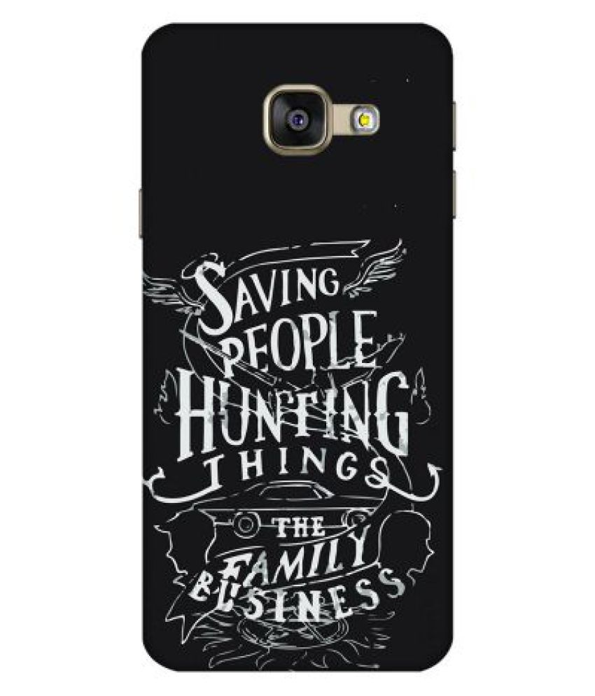 Samsung Galaxy A7 2016 Printed Cover By Emble