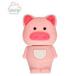 Mini Cute Pig Shape USB 2.0 Flash Drive Memory Stick Pen Drive For Storage Files