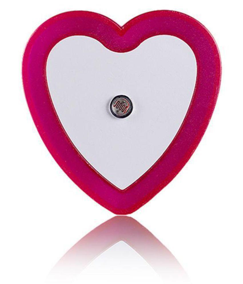 Heart Shaped Night Light Creative LED Sensor Lamp Bedroom Home Accessories