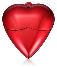 32G GB Red Heart Model USB 2.0 Flash Memory Stick Storage Thumb U Disk Drive
