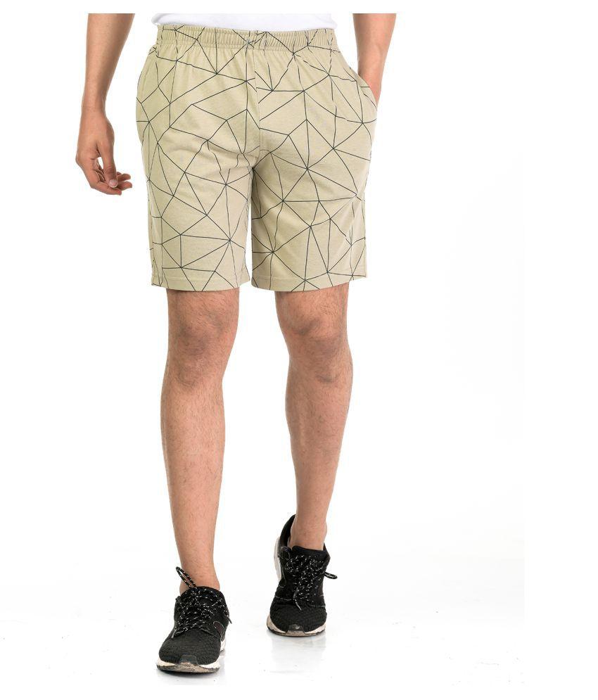 Avr Brown Shorts