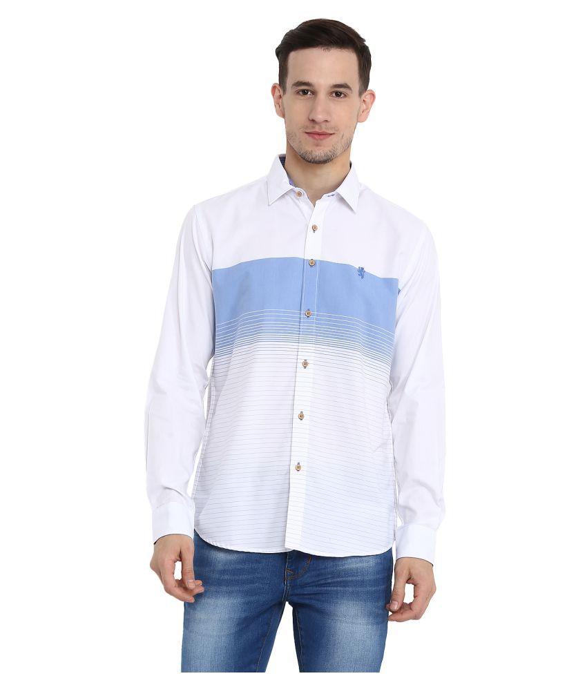 Red Tape Cotton Blend Shirt