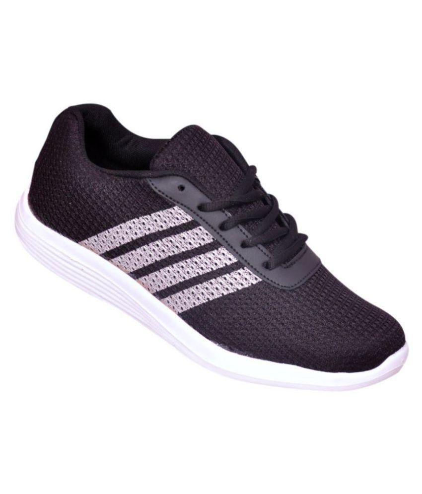 528d6453e3a8 Begone Smart Shoe for Men Black Running Shoes - Buy Begone Smart ...