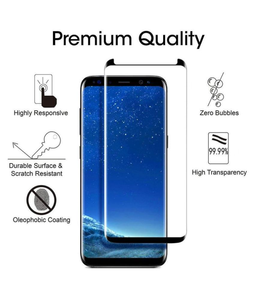 Samsung Galaxy S9 Tempered Glass Screen Guard By CrackerDeal