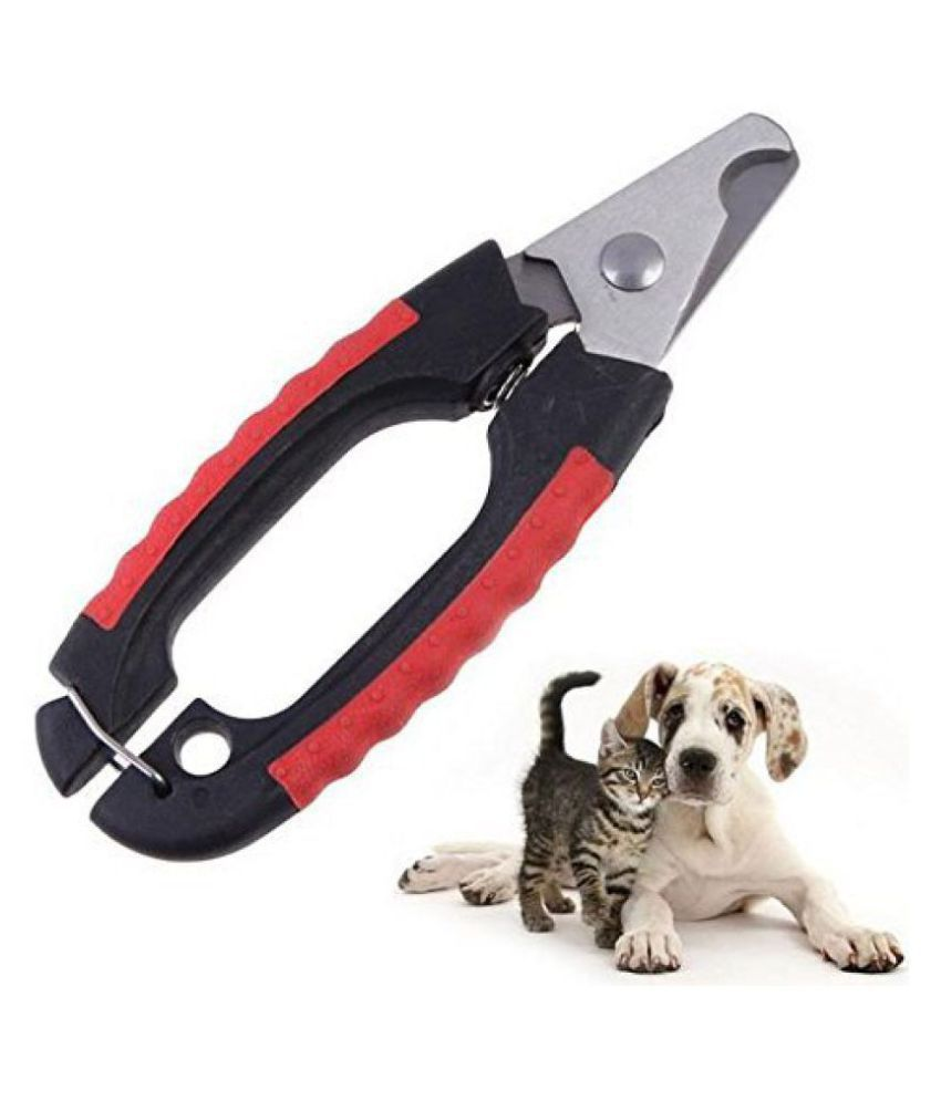 WOOFS Stainless Steel Professional Tool Nail Clipper and Cutter with Nail File for Dog and Cat