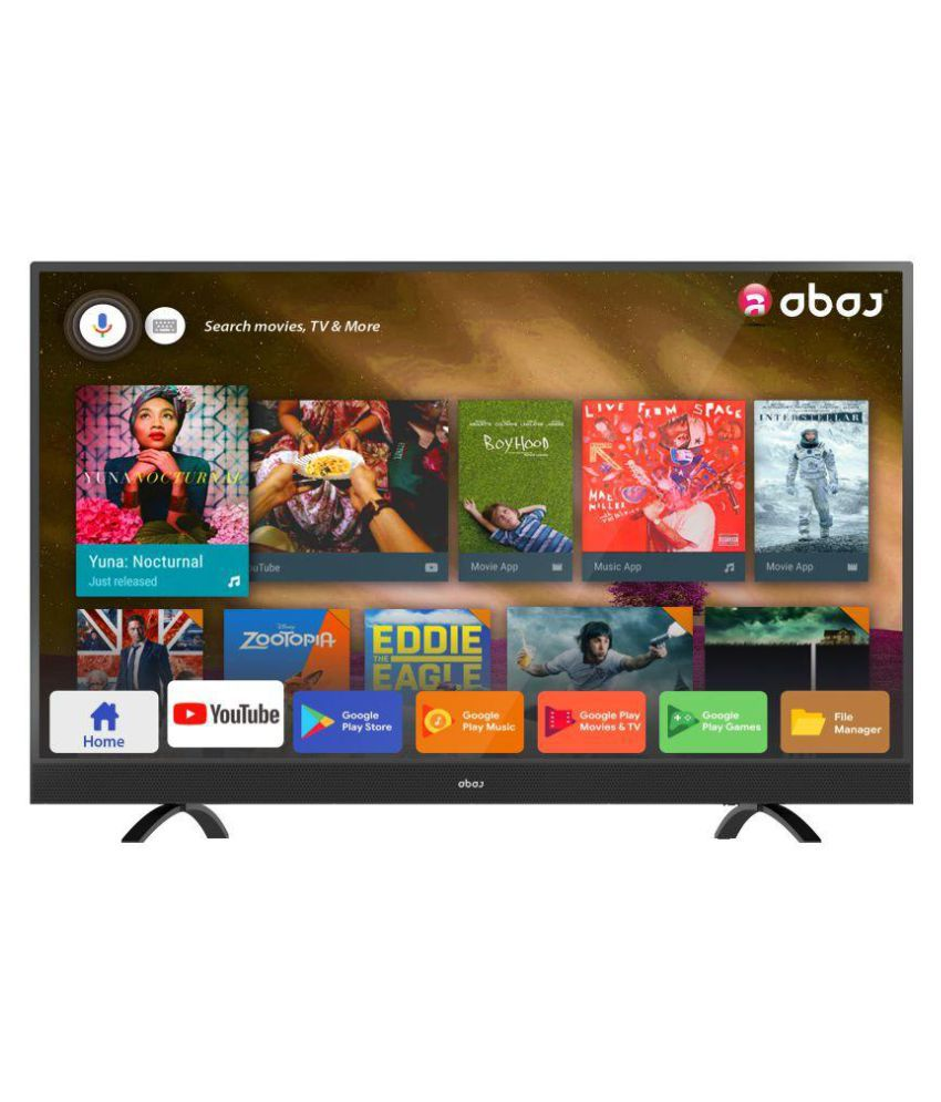 Abaj LEDAB43USECF 109 cm   43   Smart Ultra HD  4K  LED Television