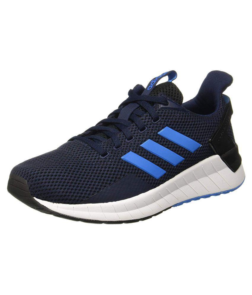 huge discount 79714 7e25e Adidas QUESTAR RIDE BD1341 Blue Running Shoes