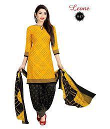 71cb1e12fb Yellow Salwar Suits: Buy Yellow Salwar Kameez Online at Low Prices ...