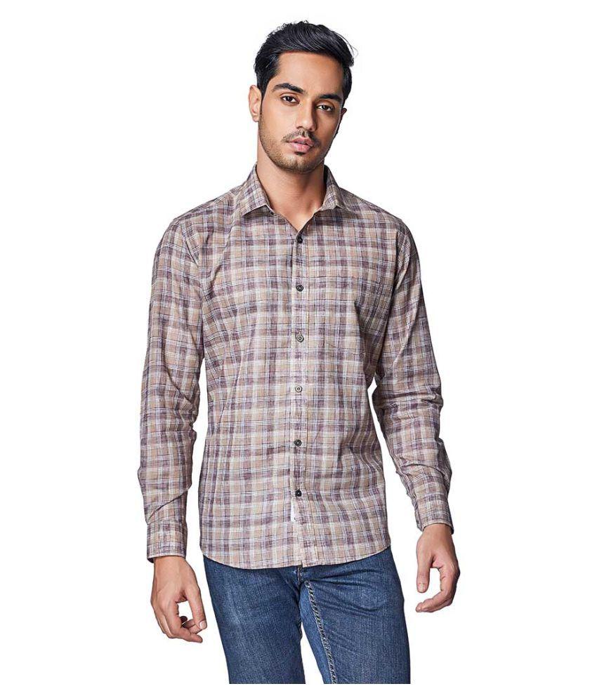 EVOQ Cotton Blend Shirt