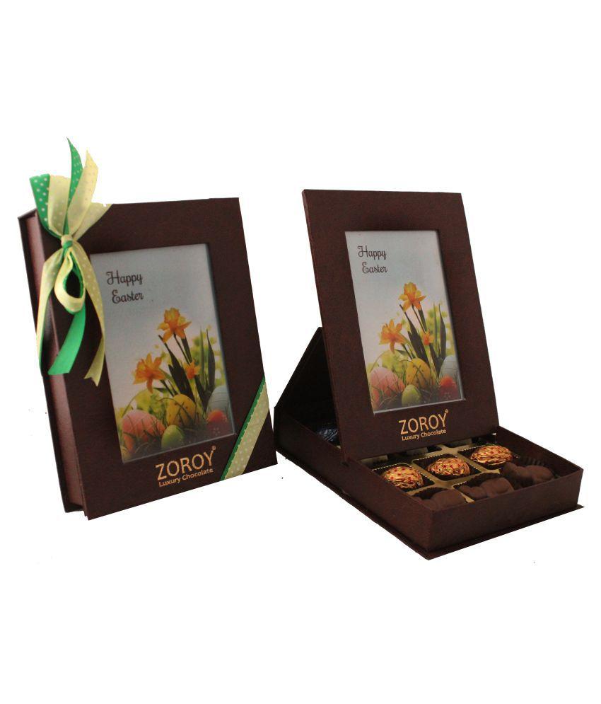 Zoroy Luxury Chocolate Chocolate Box Easter chocolate box of 12 120 gm