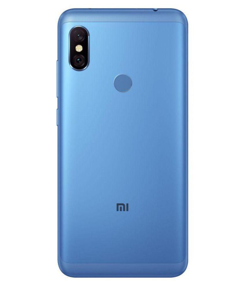 best service 9dc81 d0c82 MI Note 6 Pro (6GB RAM) ( 64GB , 6 GB ) Blue