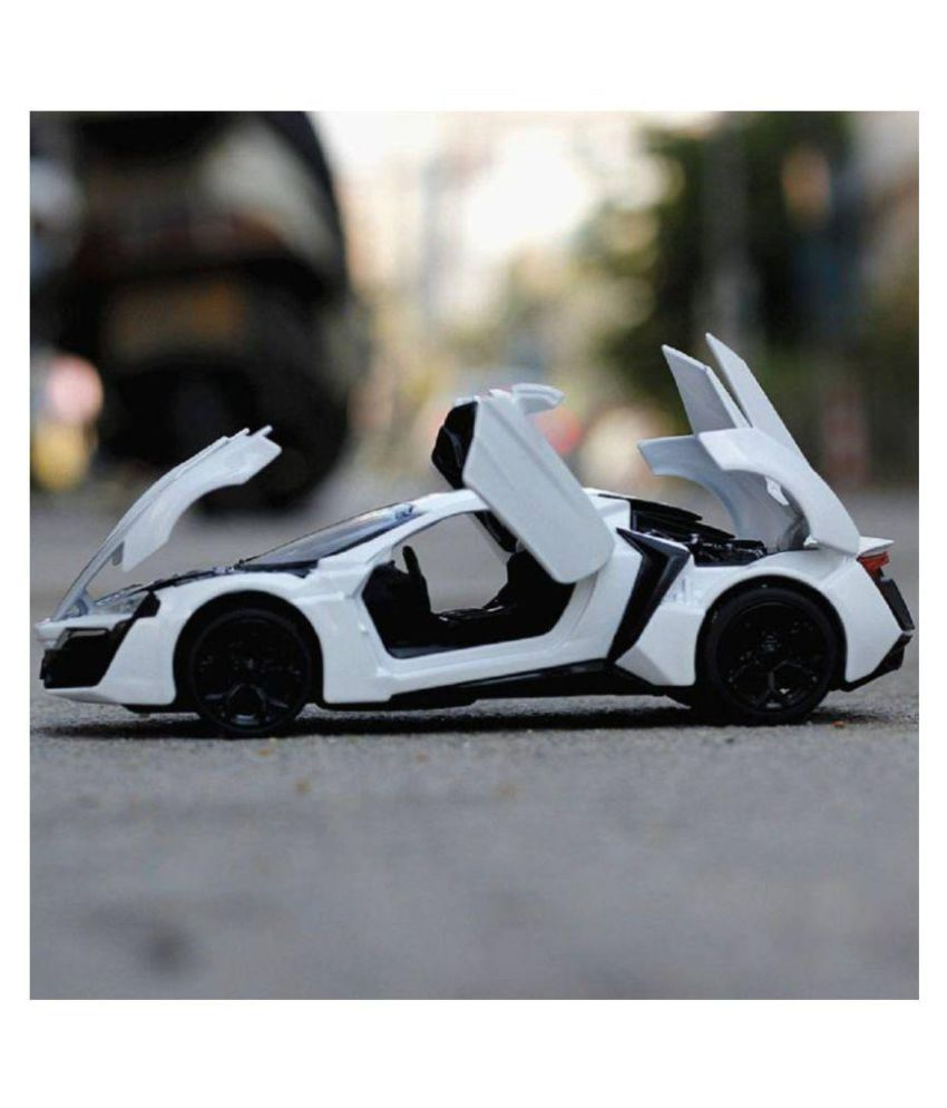 Die Cast Metal Car Toy Fast and Furious with Light and Sound Effects