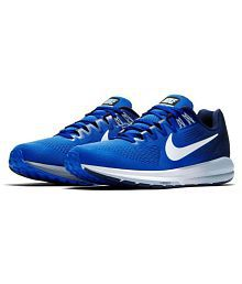 low priced 985c5 dbb73 Quick View. Nike ZOOM STRUCTURE 21 Blue Running Shoes