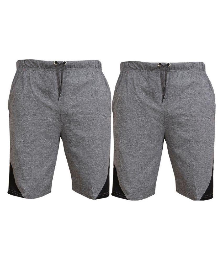 BLUSHH Grey Shorts YES