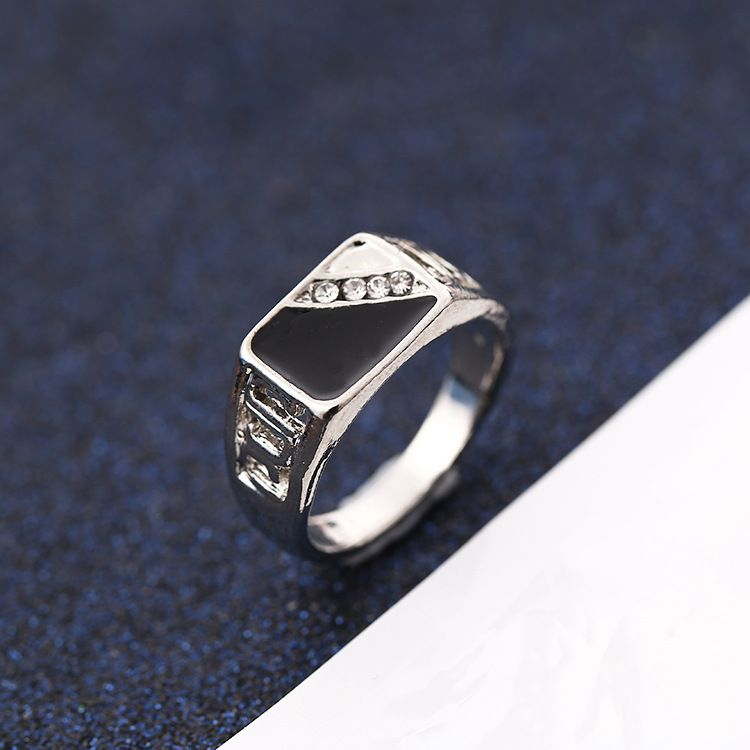 Unisex Personality Ring Silver Fashion Jewellery