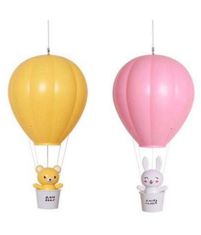 Cartoon Charging Timer LED Lamp Remote Control Air Balloon USB Night Light