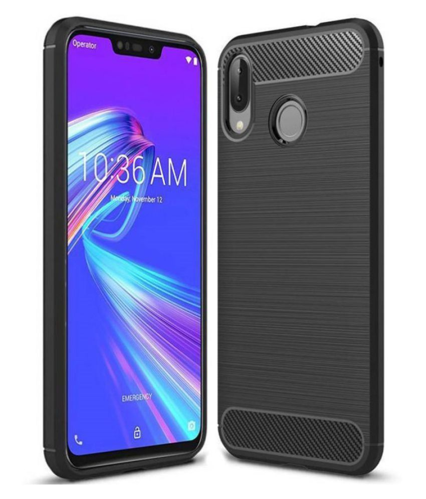 Asus Zenfone Max M2 Hybrid Covers TAG - Black
