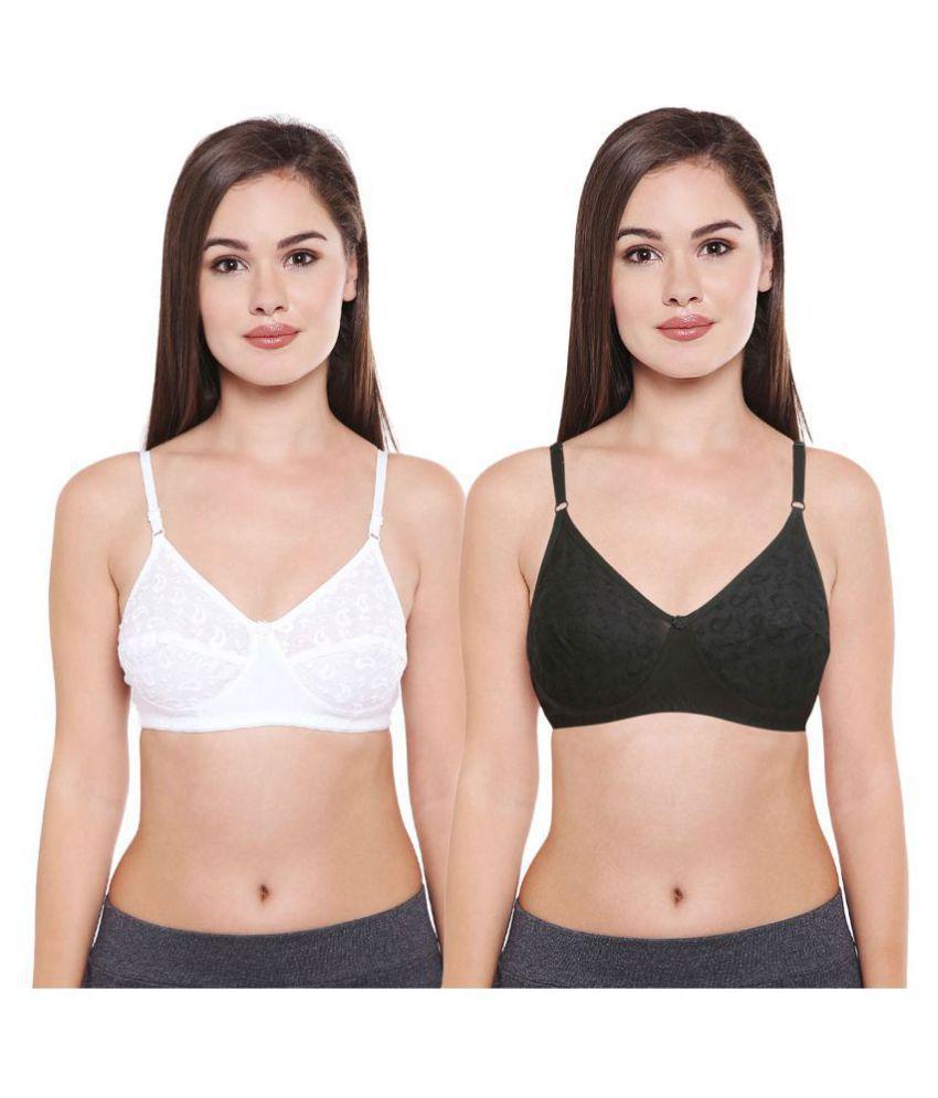 Bodycare Cotton T-Shirt Bra - Multi Color
