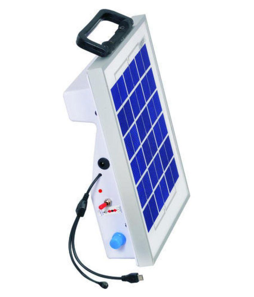 HISAFE 6W Solar Emergency Light - Pack of 1