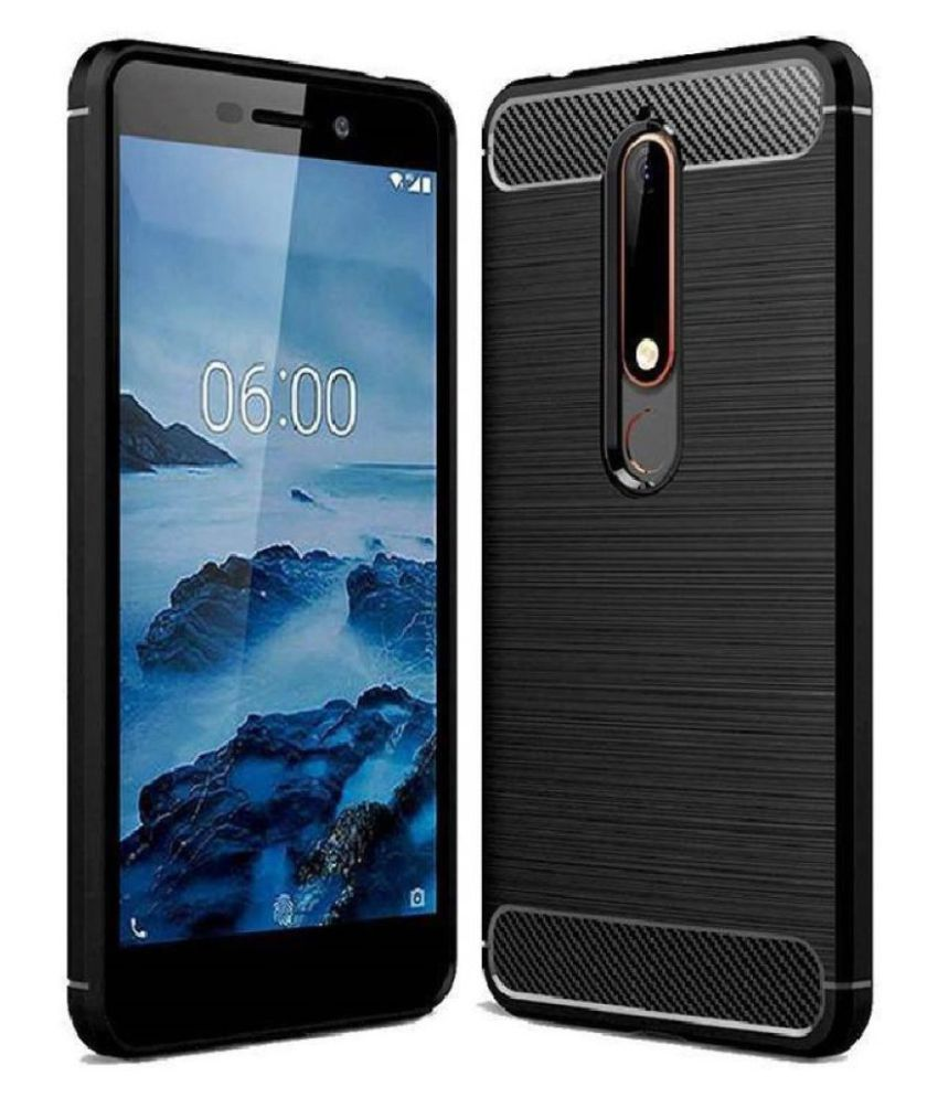 Nokia 6.1 Plus Hybrid Covers TAG - Black