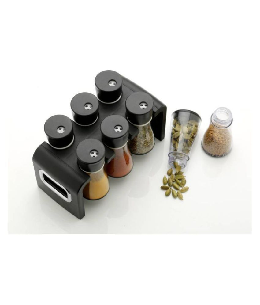 analog kichenware Polyproplene Spice Container Set of 6 50 ml