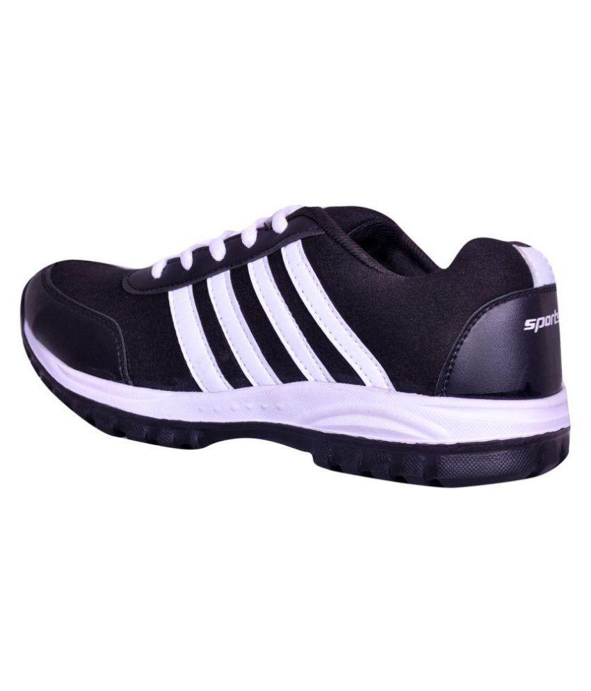 b53649578aad Elevarse Smart Shoe for Men Black Running Shoes - Buy Elevarse Smart ...