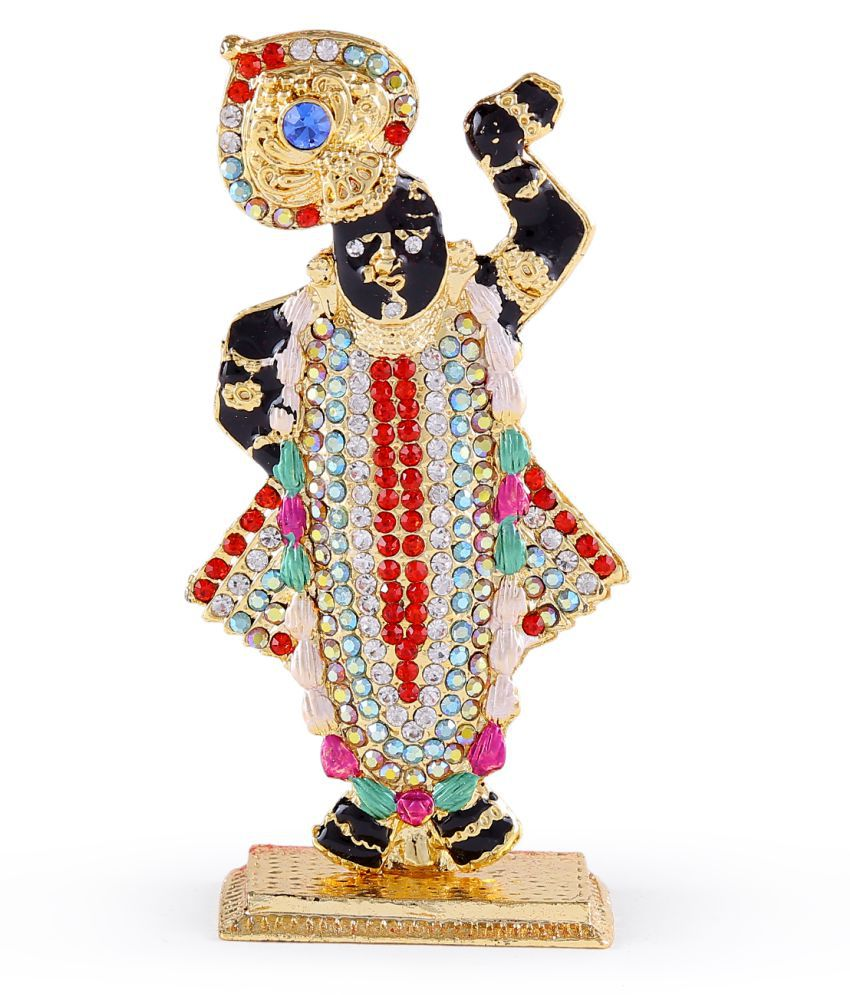 Kritimaa Creation Preayer ass Brass Statue for Home Temple/car