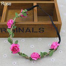 Boho Floral Women Girls Flower Hairband Headband Festival Party Wedding Decor