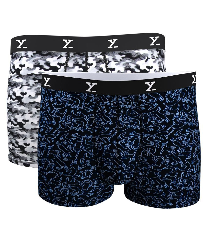 affb3eba783477 XYXX Black Trunk Pack of 2 - Buy XYXX Black Trunk Pack of 2 Online at Low  Price in India - Snapdeal