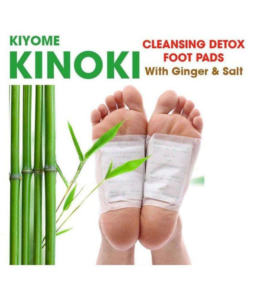 Kinoki Cleansing Detox Foot Pads 10 pads Free Size